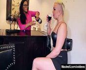 Maxine X Instructs Step Daughter Skylar Harris To Orgasm! from anushka prabhas x