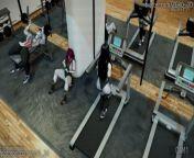 Three Times the Workout [FEMALE X FUTA] SFM from goku