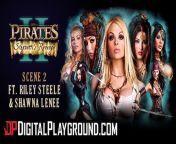 Digitalplayground - Worlds best porn parody Pirates, Hot blonde threesome from bd hot movie song video