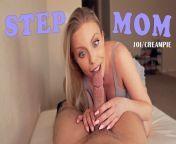 STEP MOM JOI CREAMPIE from v mv