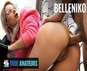 True Amateur - Gamer girl Belleniko loves anal and big cock from fananad niko shidan